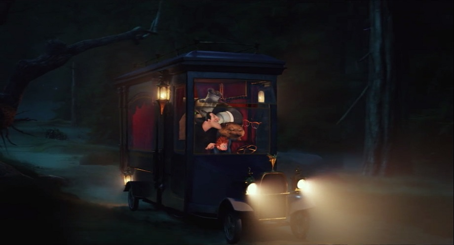 "IMCDb.org: ""Hotel Transylvania 2, 2015"": cars, bikes, trucks and other vehicles"