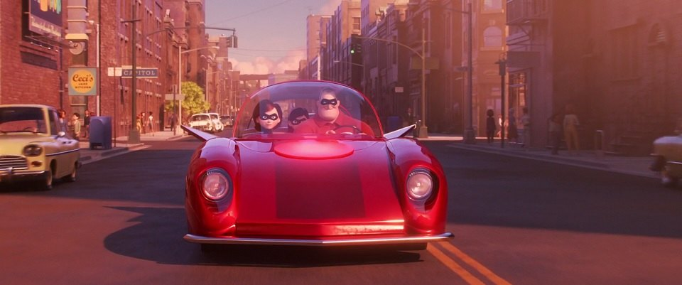 "IMCDb.org: ""Incredibles 2, 2018"": cars, bikes, trucks and ..."