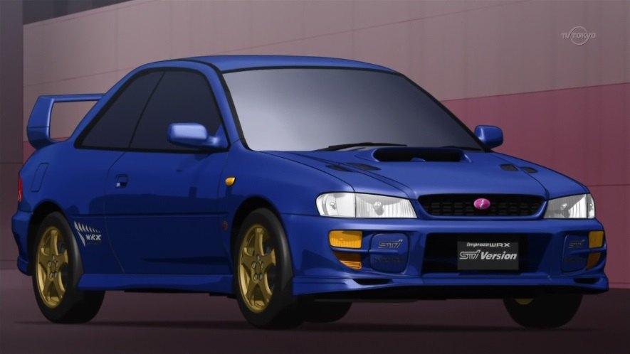 "Used Subaru Wrx Sti >> IMCDb.org: 1998 Subaru Impreza WRX STi Type R Version V [GC] in ""Chô Soku Henkei Gyrozetter ..."