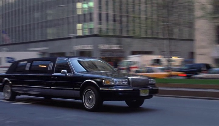 Imcdb Org 1995 Lincoln Town Car Stretched Limousine In Mickey Blue