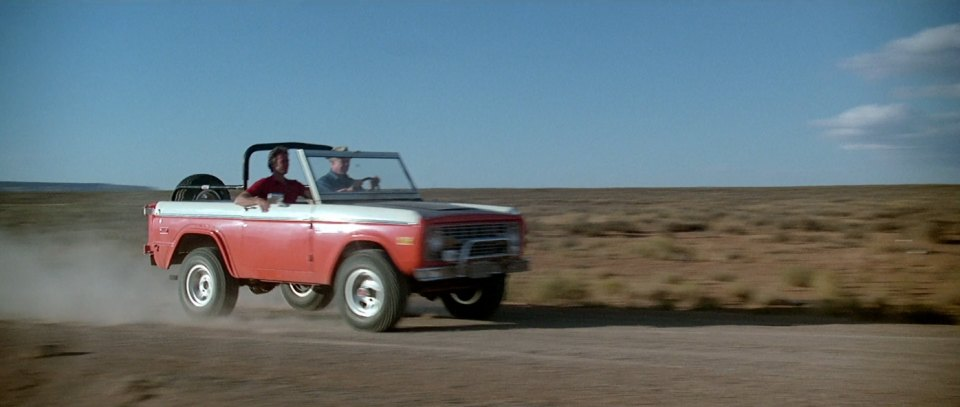 "IMCDb.org: 1974 Ford Bronco Baja in ""The Eiger Sanction, 1975"""