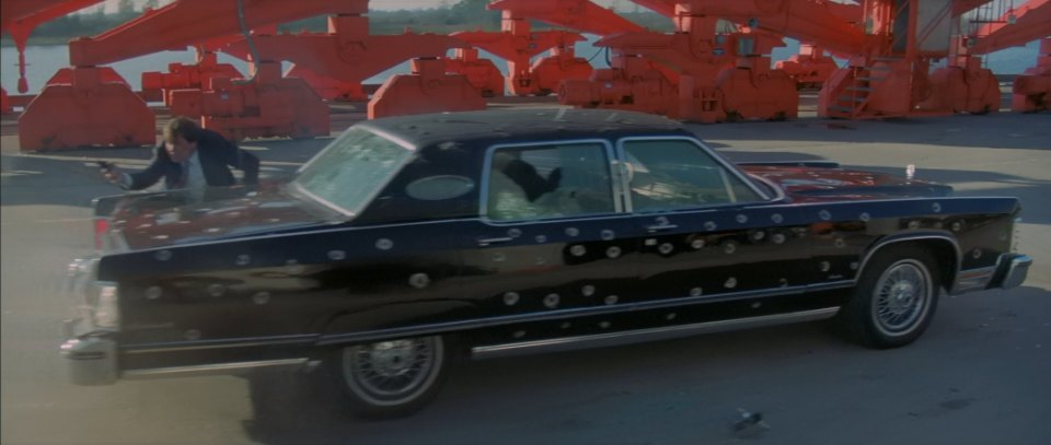 Imcdb Org 1976 Lincoln Continental Town Car In Raw Deal 1986