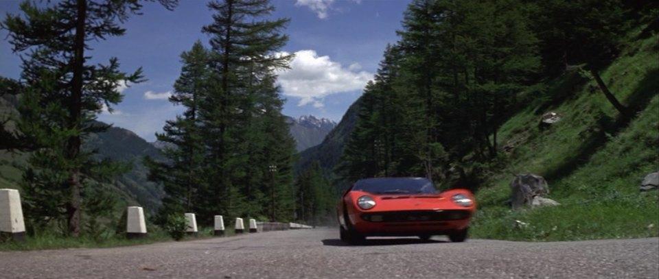 Imcdb Org 1968 Lamborghini Miura P400 3586 In The Italian Job 1969