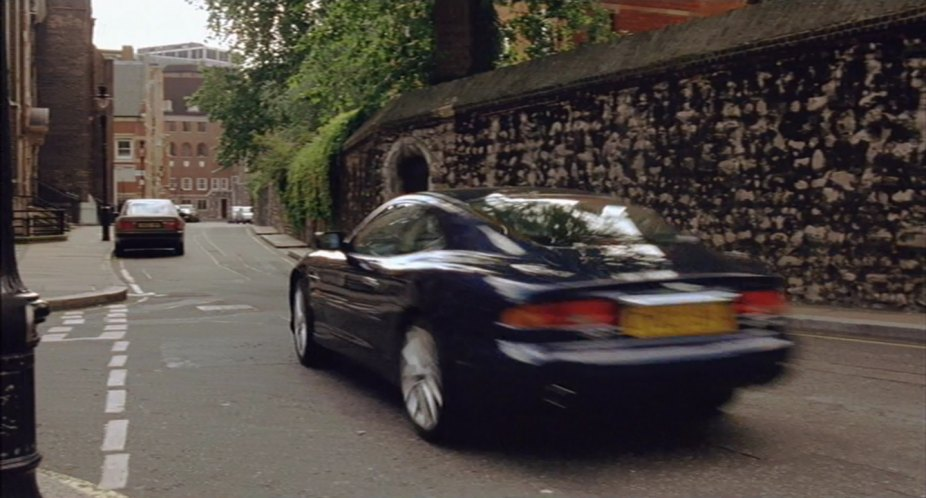 Imcdb Org 2002 Aston Martin Db7 Vantage In Johnny English 2003