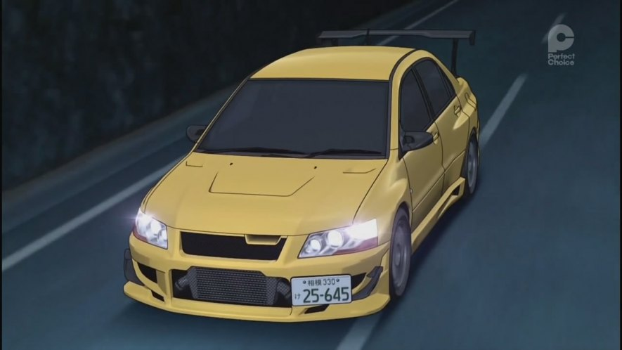 "West Herr Used Cars >> IMCDb.org: 2001 Mitsubishi Lancer Evolution VII GSR [CT9A] in ""Inisharu D, 1998-2014"""
