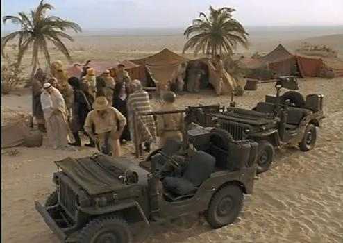 """Full Floating Axle >> IMCDb.org: Willys MB 'Jeep' in """"The Rat Patrol, 1966-1968"""""""