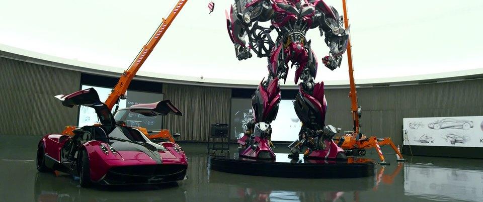 "imcdb: 2013 pagani huayra in ""transformers: age of extinction, 2014"""