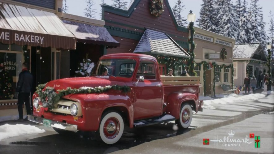 Christmas In Evergreen.Imcdb Org 1953 Ford F 100 In Christmas In Evergreen 2017