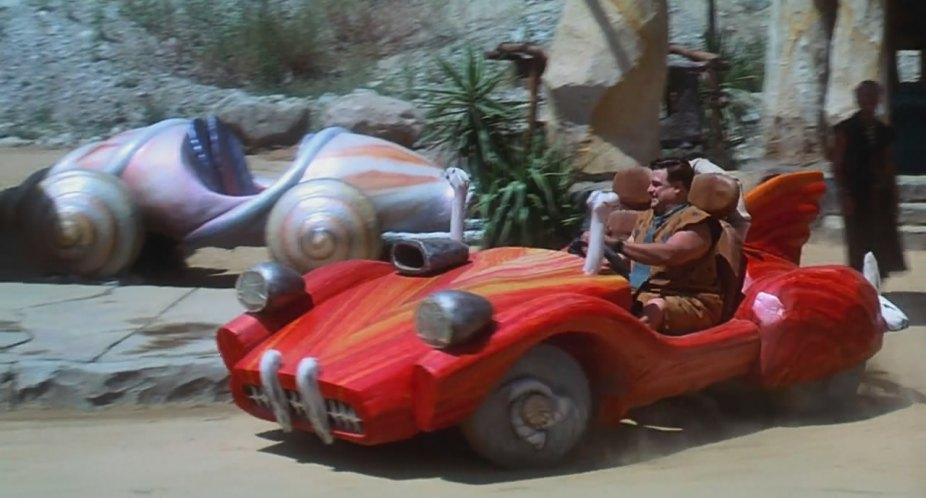 "Used Cars Mobile Al >> IMCDb.org: Made For Movie Flintmobile George Barris in ""The Flintstones, 1994"""