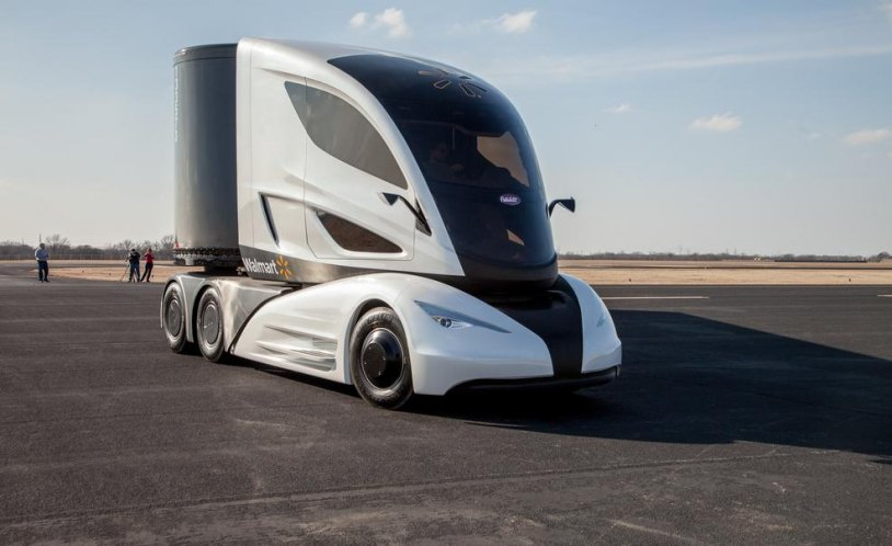 Image Advanced Vehicle Experience Truck Concept Photo