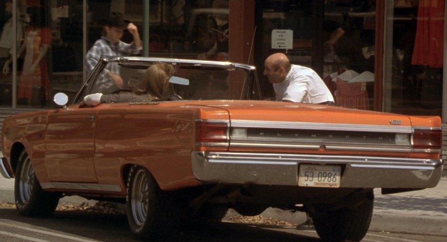 Imcdborg 1967 Plymouth Belvedere Ii As Gtx In Joe Dirt 2001