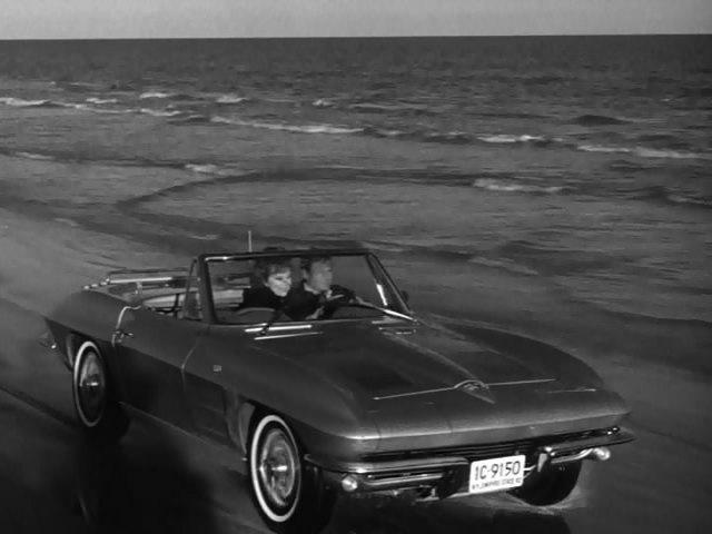 1963 Chevrolet Corvette Sting Ray C2 In Route