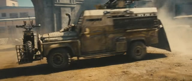 """Land Rover Truck >> IMCDb.org: Land-Rover Defender 110 in """"The Expendables 2, 2012"""""""