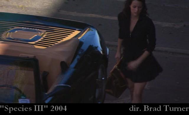 Imcdb Org Ferrari F355 Spider F1 In Quot Species Iii 2004 Quot