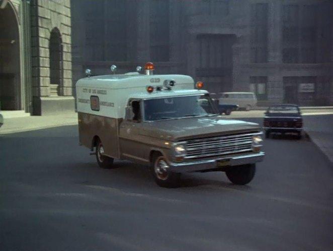 """IMCDb.org: 1969 Ford F-250 Ambulance In """"Adam-12, 1968-1975"""""""