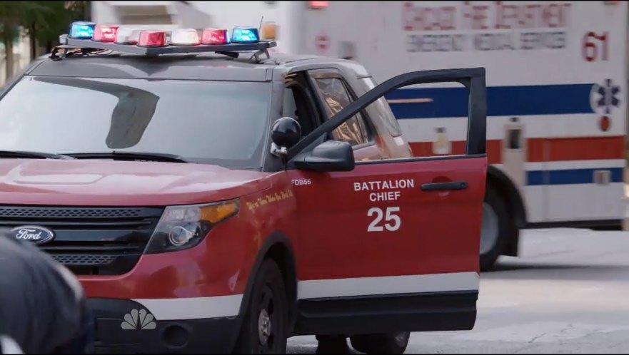 imcdborg  ford police interceptor utility   chicago fire